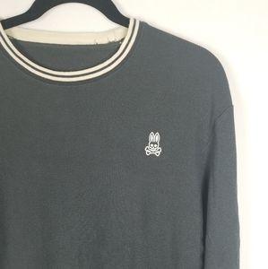 Psycho Bunny Long Sleeve Crewneck Sweater